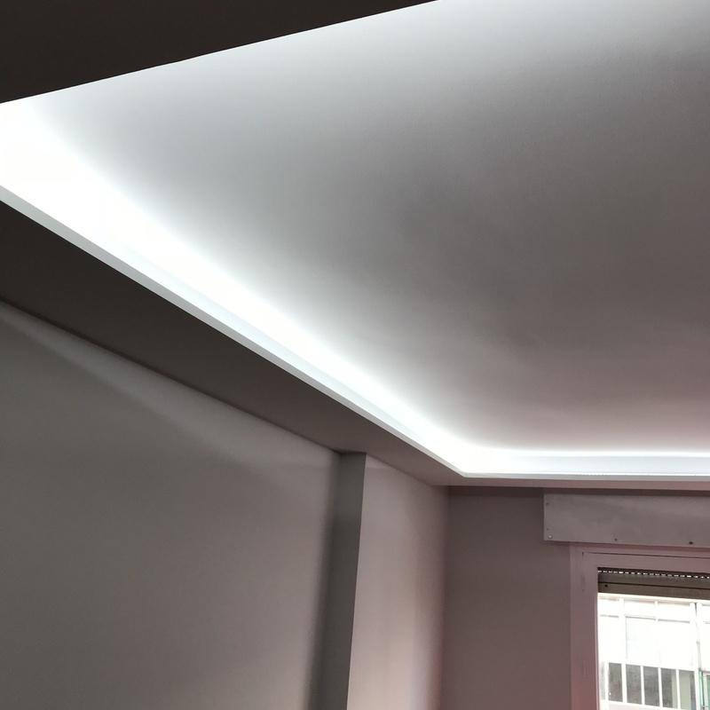 sistema de iluminación y pladur