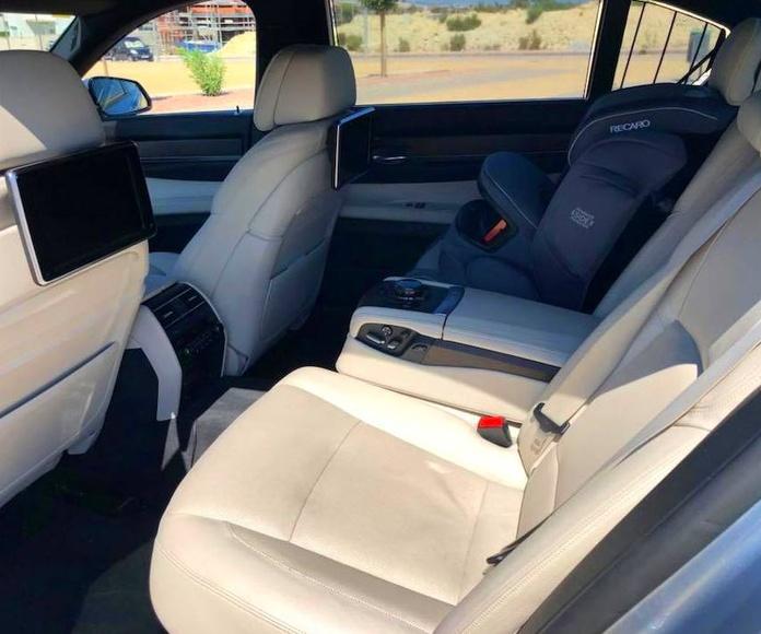 BMW 750LI INDIVIDUAL: Taller y concesionario de Elite Garage