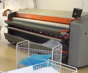 Limpieza de ropa, tapicería de yates y veleros: Servicios de Tintoreria Bugaderia Ninot