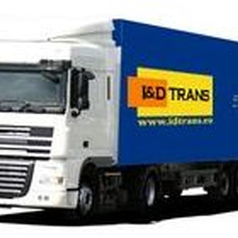 Transporte internacional por toda Europa