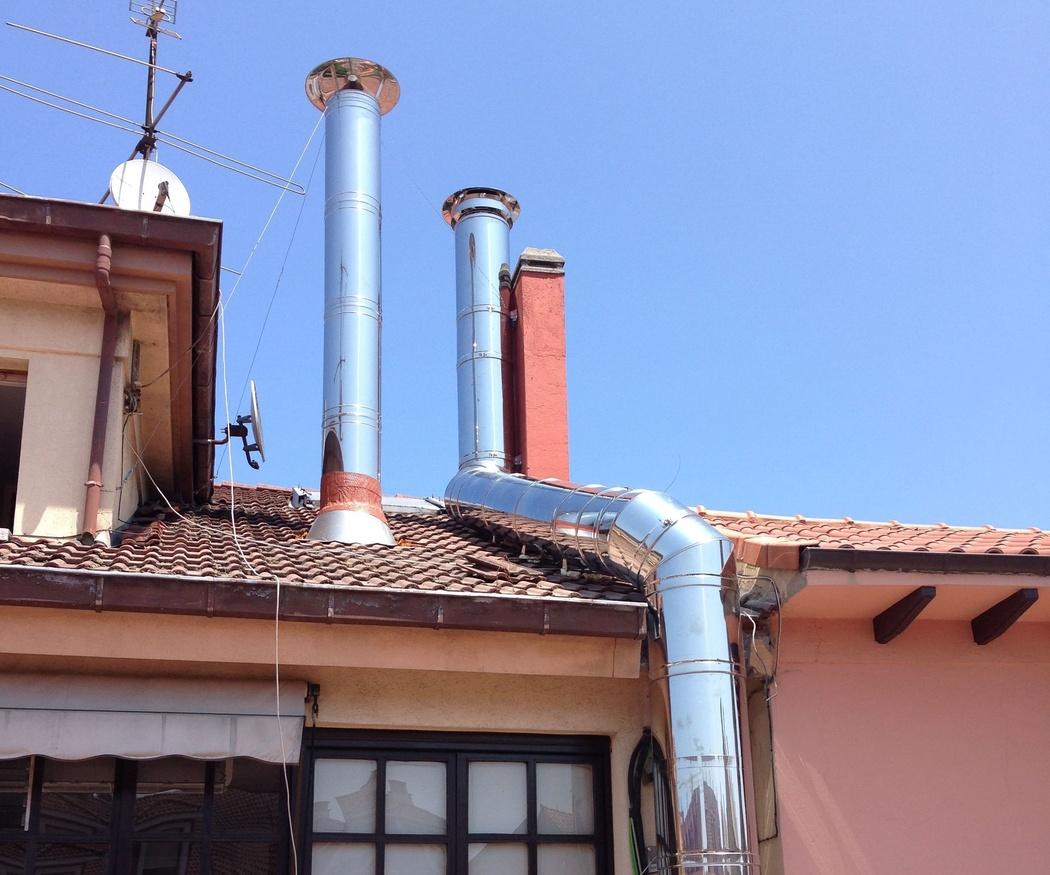 El diseño de las chimeneas metálicas
