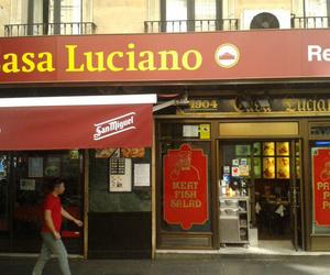 Casa Luciano, restaurante típico en Madrid centro