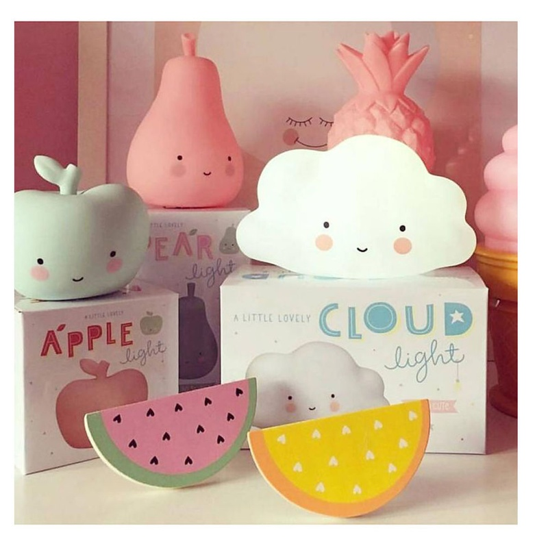 Mini Luz Nube White A Little Lovely Company: Productos de Mister Baby