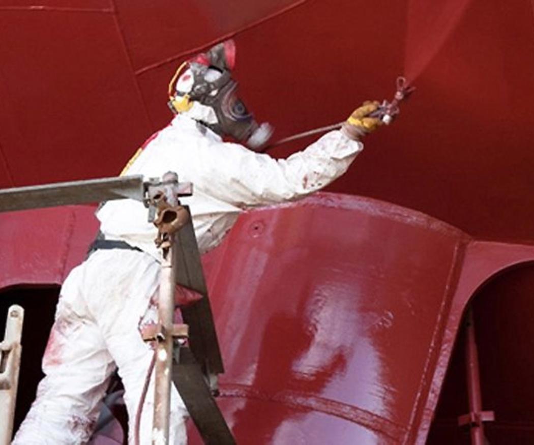 Características de la pintura industrial