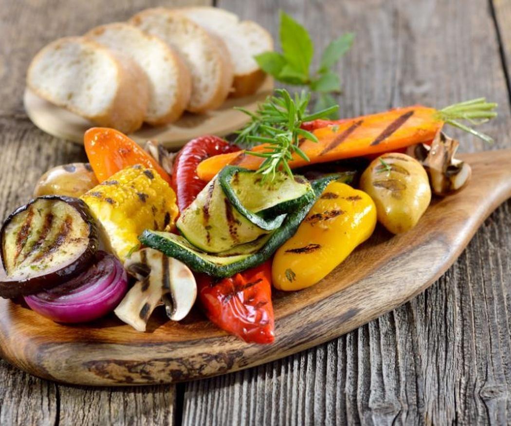 Parrillada de verduras, un plato tan sabroso como saludable