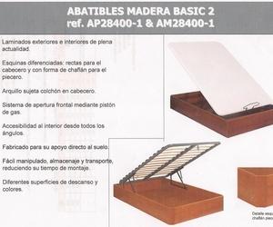 ABATIBLES MADERA