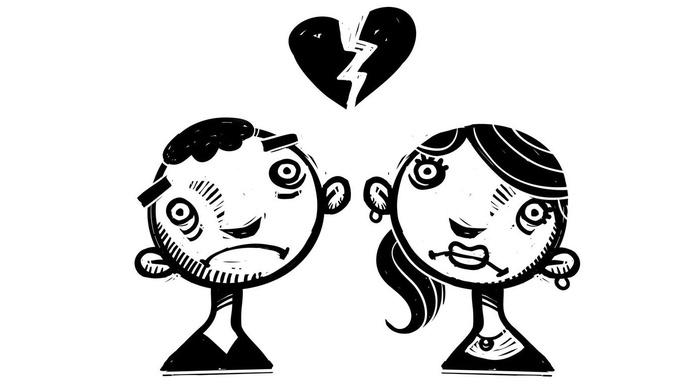¿Cómo una ruptura de pareja cambia la personalidad?