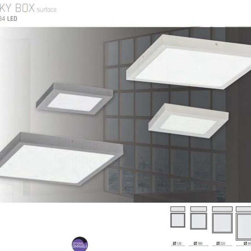 Plafón LED SKY BOX: Productos de Mercurio Alumbrado