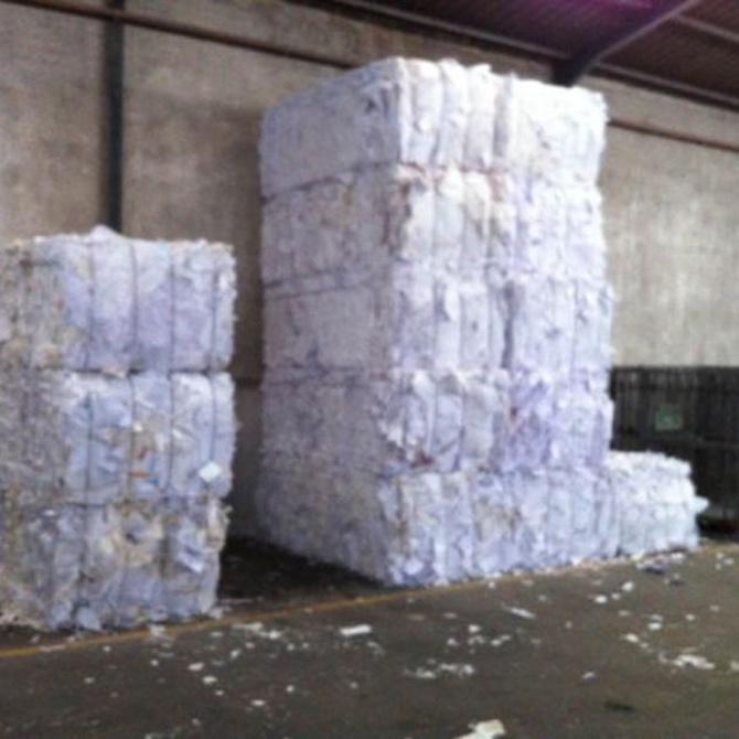 ¿Cuándo empezó el reciclaje del papel?