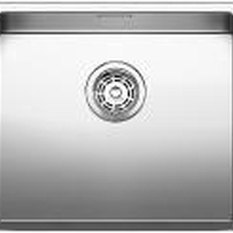 Fregaderos Blanco de acero inoxidable modelo Blanco Claron 450-IF