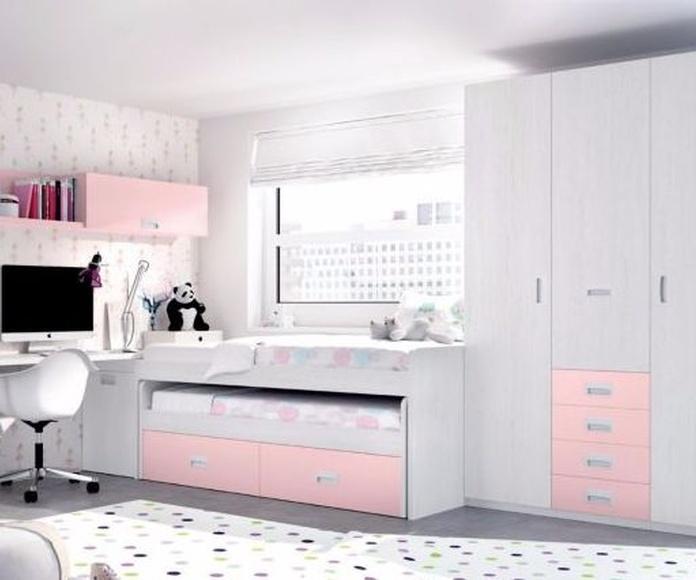Dormitorio juvenil en Muebles Sagunto