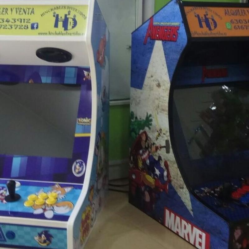 Máquinas de juegos: Catálogo de Hinchables Divertidos