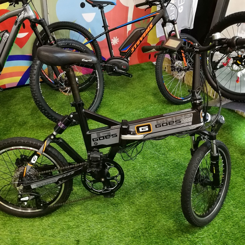 Goes bicicleta electrica plegable: Productos de Bikes Head Store