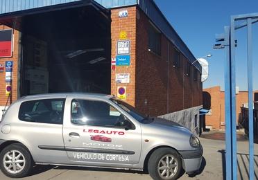 Vehículo de cortesía gratuito en Leganés
