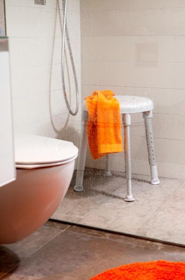 Taburete de ducha redondo Easy