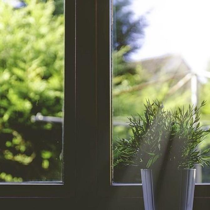 Protegerse del calor con la carpintería de aluminio