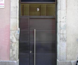 Estructura en hierro: Productos y Servicios de Forjafid - Puertas para Comunidades