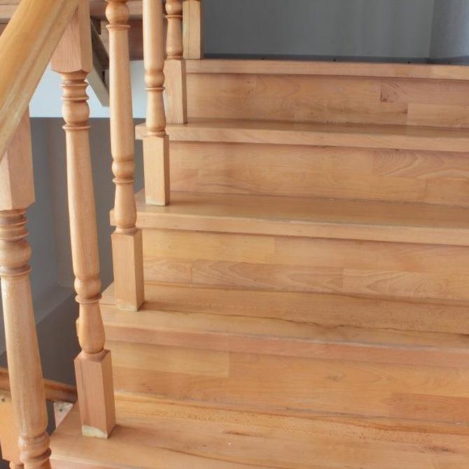 Razones para elegir escaleras de madera
