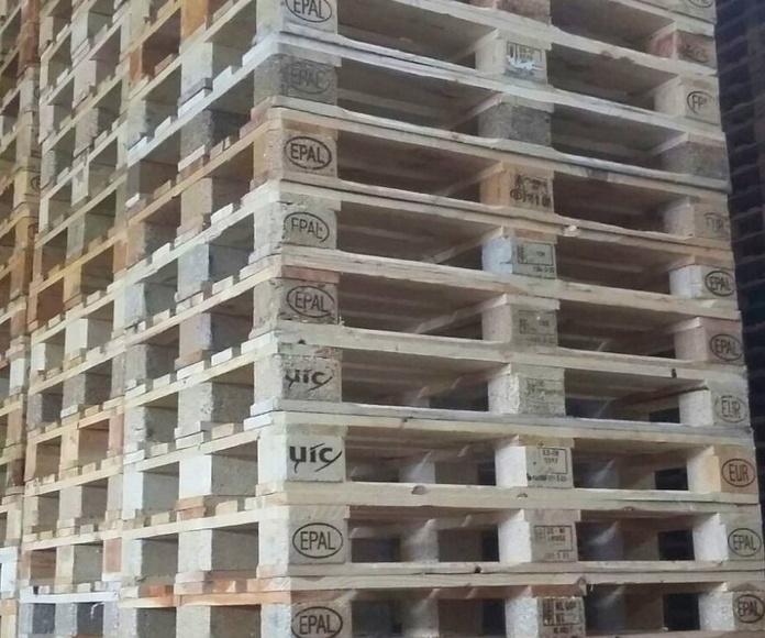 PALET 800 X 1200 DE 1º : Productos y servicios de Reciclajes Maype
