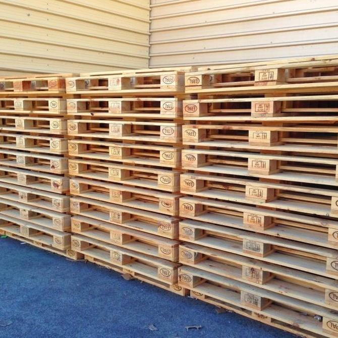 Claves del uso de palets de madera para alimentos
