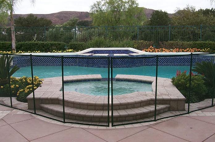 Vallado de seguridad para piscinas