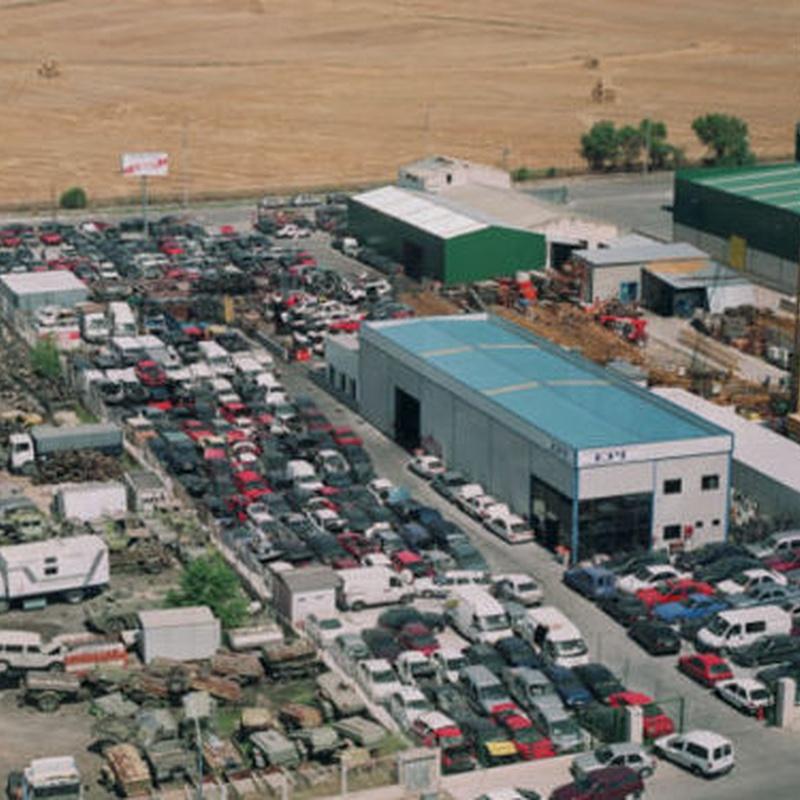 Compra y venta de vehículos: Desguace de Autodesguaces EPI Sport
