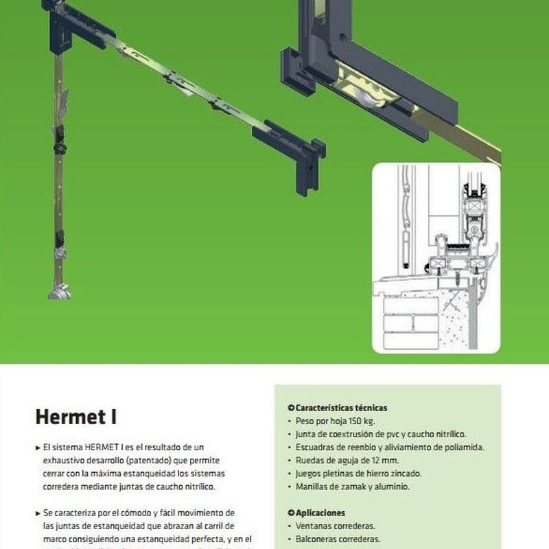 Hermet I: Productos de Serysys