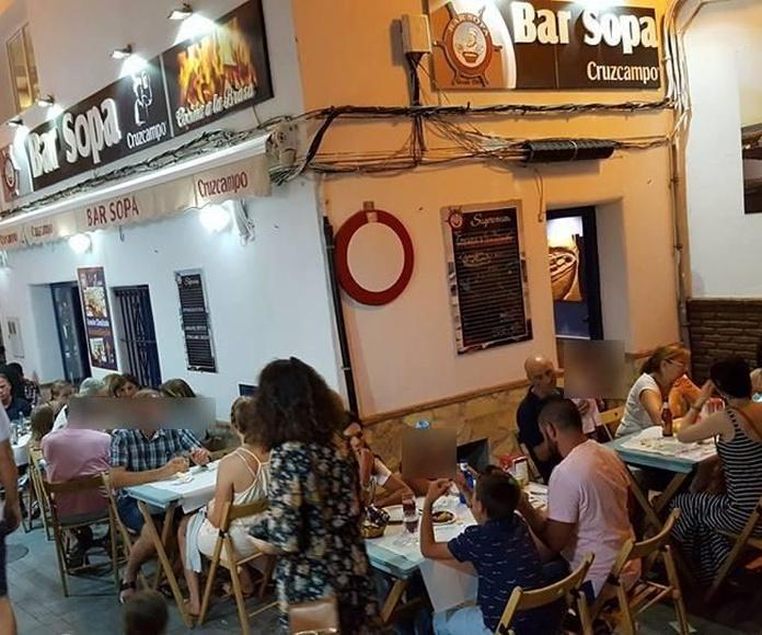 Nuestro restaurante: Nuestra cocina de Bar Sopa