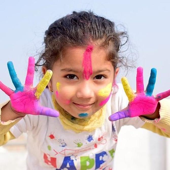 La esencia de la alegría en los niños