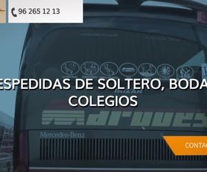 Contratar autobuses Valencia