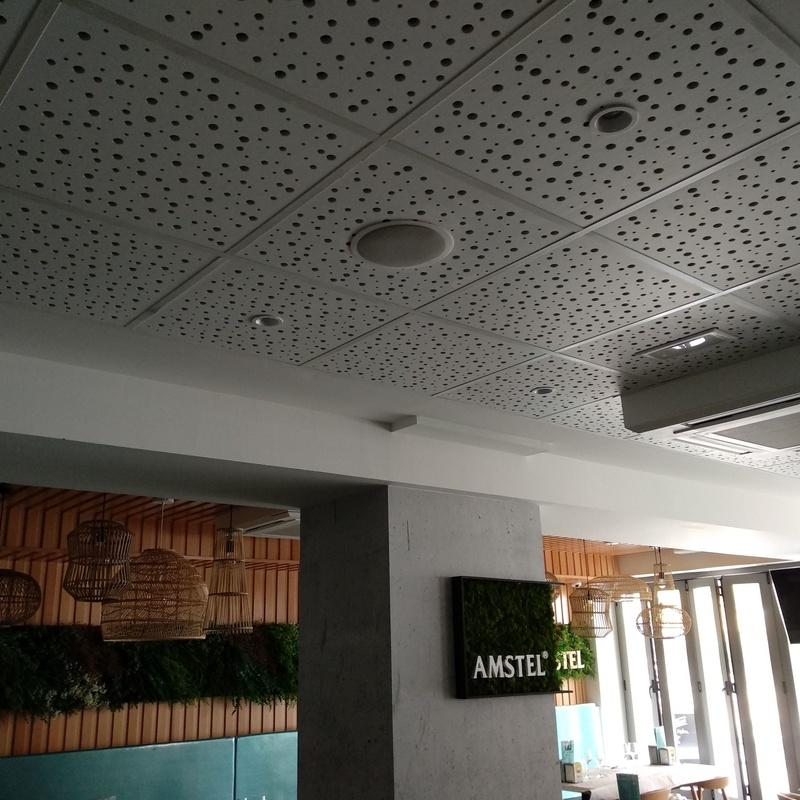 FALSOS TECHOS FONOABSORBENTES: Productos y servicios  de Acoustic Drywall