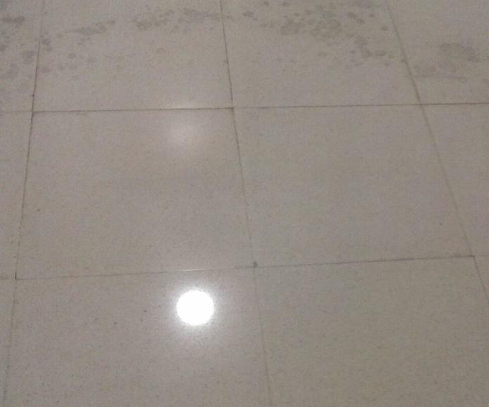 DIAMANTADO: Trabajos que realizamos de Limpiezas Supralimp