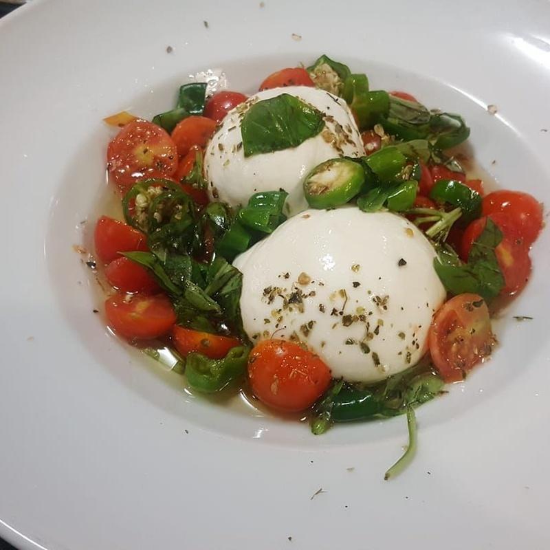 Ensaladas: Menú Delivery de La Siesta Italiana