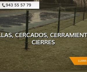 Vallas para jardín y piscinas en Donostia