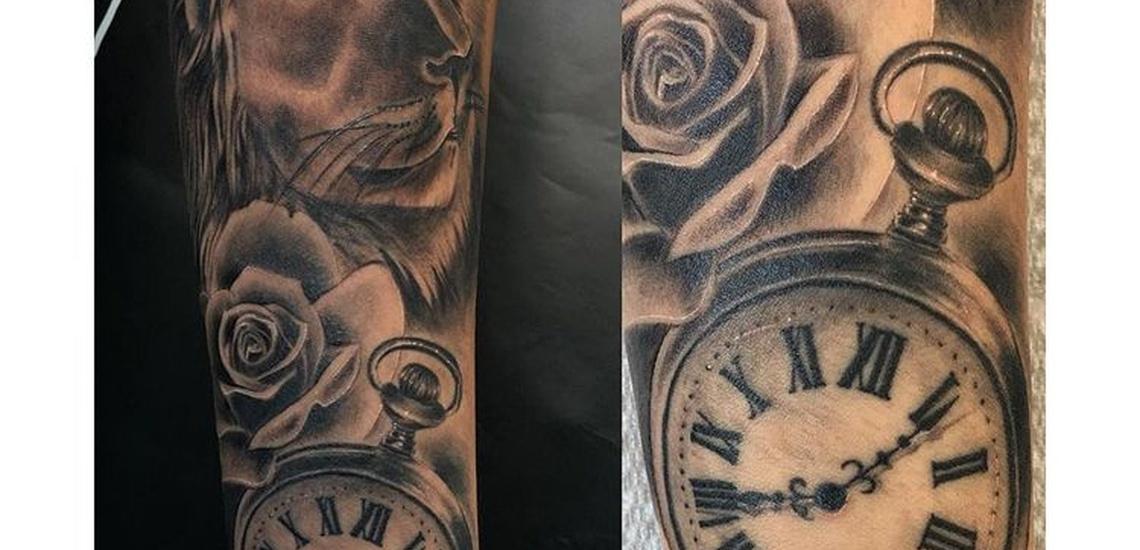 Tatuajes de realismo en blanco y negro en Hospitalet de Llobregat