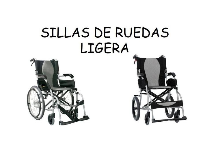 Sillas de rueda ligeras: Catálogo de Ortopedia Bentejui