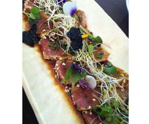 Tataki de atún