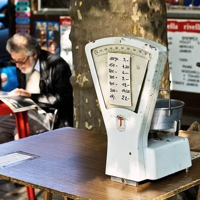 ¿En qué consiste el calibrado de una balanza?