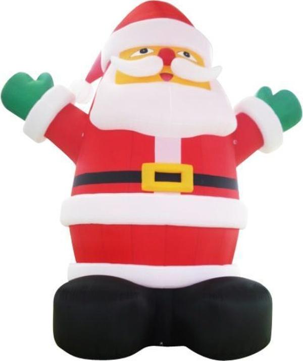 Papa Noel hinchable