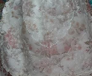 Falda del vestido de fallera
