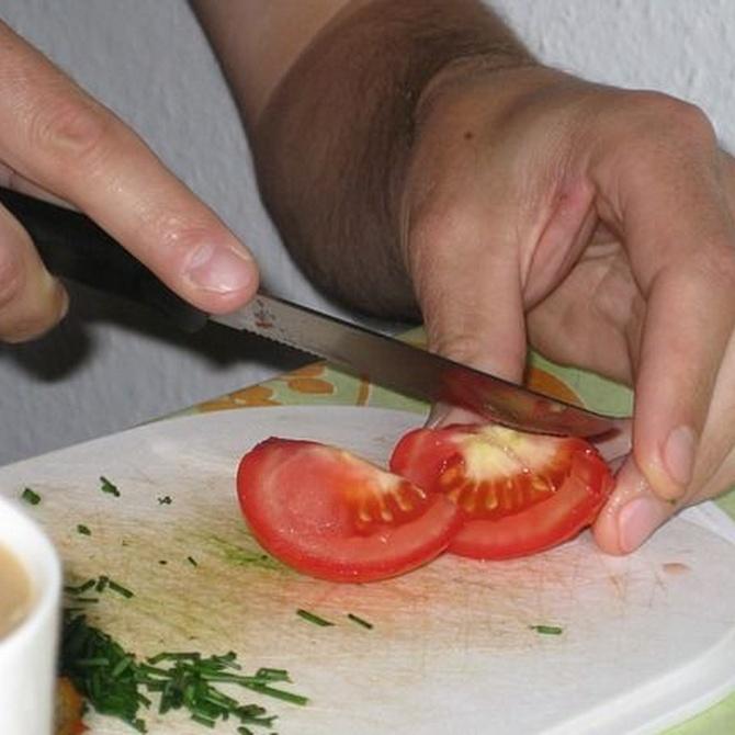 Cómo mantener tus cuchillos de cocina bien afilados