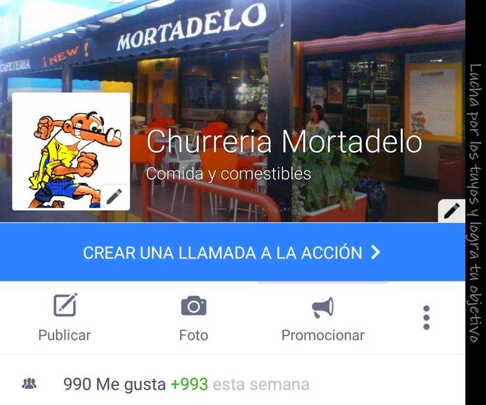 Facebook Churreria Mortadelo.