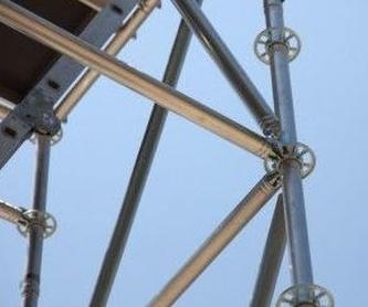 Andamios fijos perimetrales : Productos y servicios de Alquileres Nevada