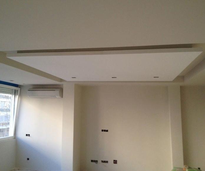 Luxalon, techo rejilla mini en aluminio: Servicios de Implac