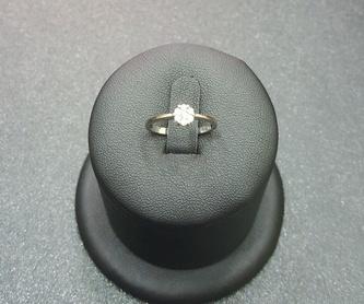 Anillo oro blanco con diamante: Compra Venta de Oro y Plata de MR. SILVER & GOLD