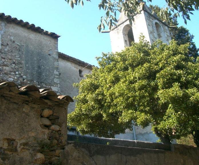 Iglesia de Palol d'Onyar (Girona)