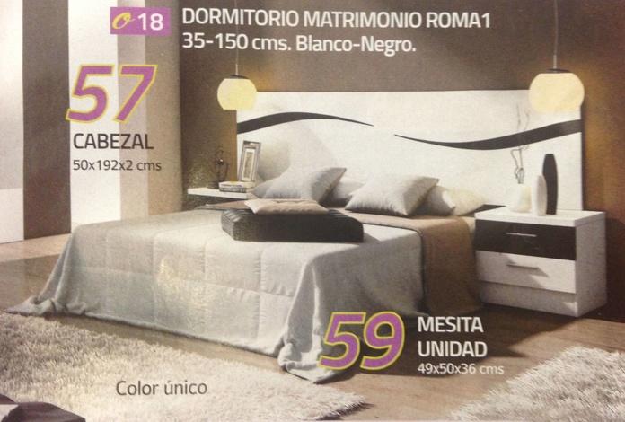 dormitorio mod.Roma: Productos  de Muebles Llueca, S. L.