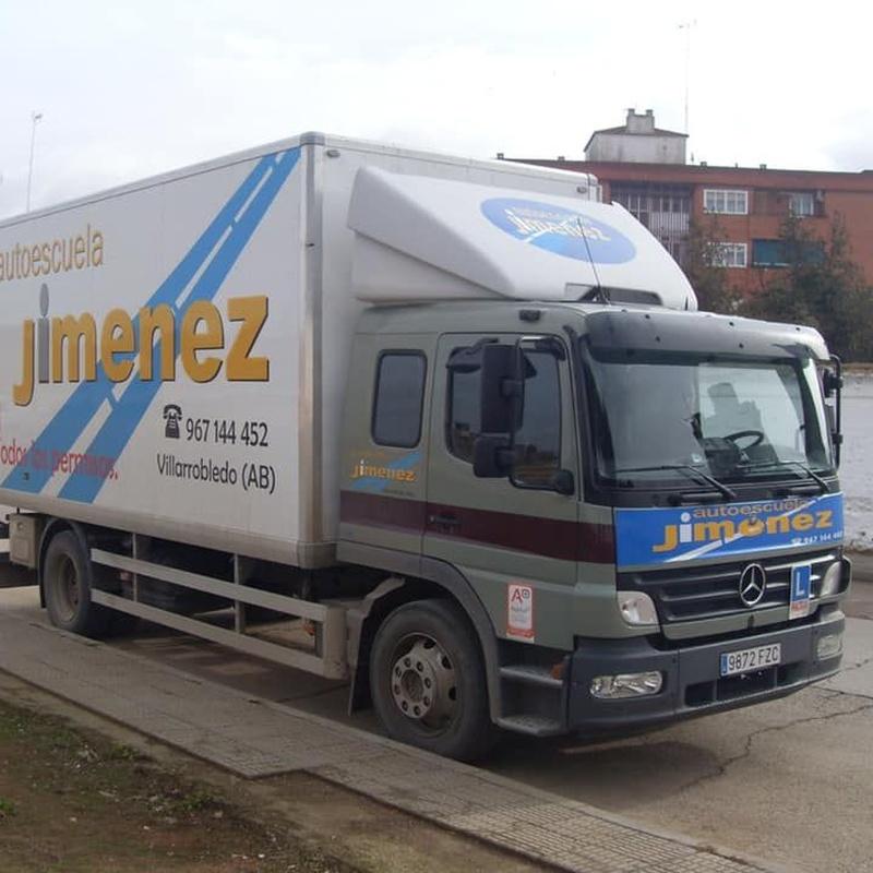 Curso capacitación transportistas: Permiso de conducir de Autoescuela Jiménez