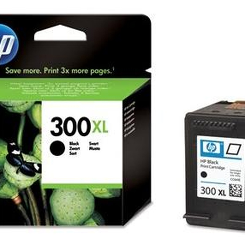 Cartucho HP300XL Negro - CC641EE