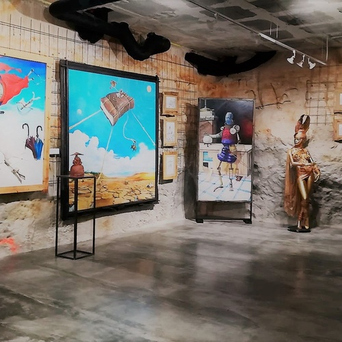 Art gallery and exhibition hall in Sitges | L'Art i Café